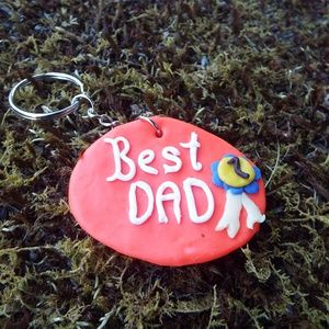 Best Dad key chain (personalized)